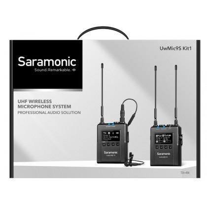 Saramonic UwMic9s K1 UHF Wireless Lavalier Microphone System