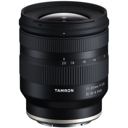 Tamron 11-20mm f/2.8 Di III-A RXD Lens for Sony E - Limited stock (MSIA)