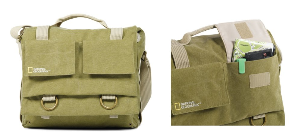National Geographic NG 2476 Medium Shoulder Bag for Camera and Personal Belongings